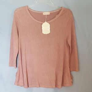 Altar'd State Women's Pink Top Size Small